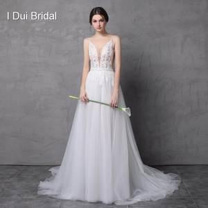 2c1c35b009a I DUI Bridal Beach Wedding Dress Skirt Tulle Bridal Gown