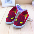 Children shoes girls boys loafers kids sneakers spider-man canvas shoes soft sole casual boys gils shoes slip-on kids shoes