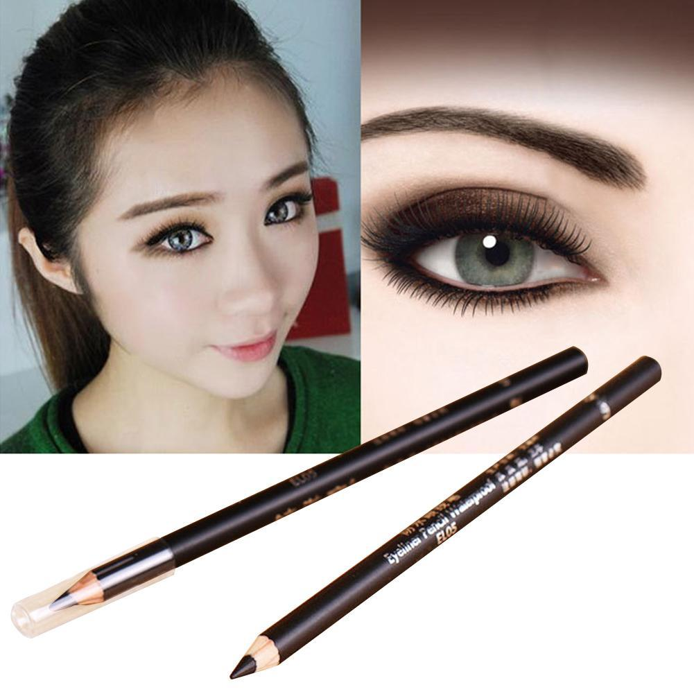 New 2Pcs Eyeliner Pen For Women Waterproof Eyeliner Pencil Long-lasting Black Eye Liner Makeup Beauty Pen Pencil Cosmetic Tool