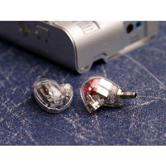 Nowy SE846 DIY 5BA napęd w ucho słuchawki z każdej strony 5 zbalansowana armatura odpinany odłącz kabel MMCX monitorowanie HIFI słuchawki