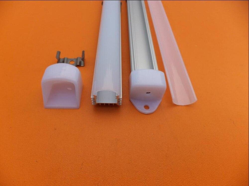Free Shipping Slim Size  Aluminum LED Profile-Item led Stairs profile suitable for LED strips