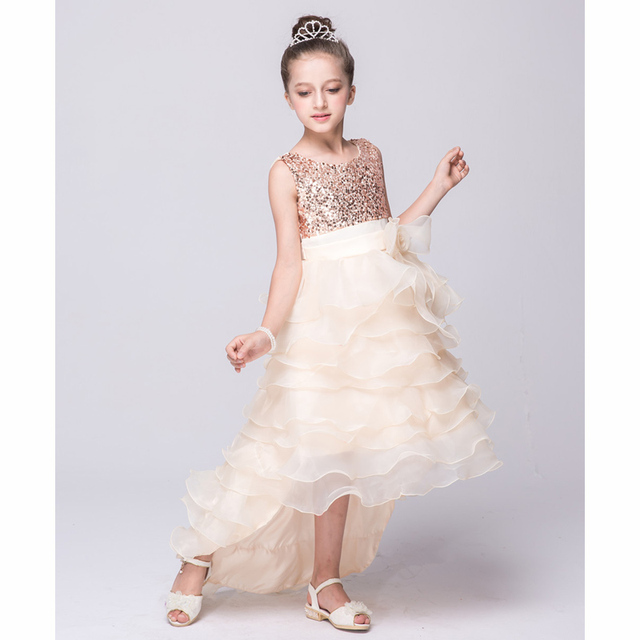 2016 New fashion Dress for Girl Princess Party dress for Baby Girl  sleeveless Dress for 3 ca24ac0c41c3