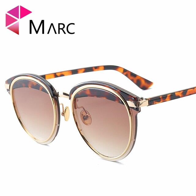 0ff52273c5f69 MARC UV400 WOMEN Oval sunglasses Rimless White Green Black Gradient MEN  Wrap Gafas Round Sol Mirror