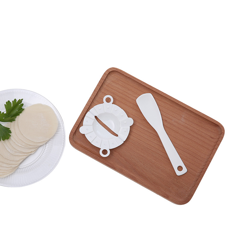 2PCS High quality Healthy Plastic Dumpling Machine Mold Maker Easy DIY Dumpling Mold Kitchen Tools Jiaozi Maker Device Hot Sale in Cooking Tool Sets from Home Garden