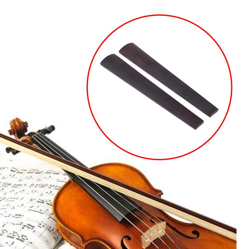 Aspiring 2pcs/set 272mm/10.7 Inch Violin Fingerboard Ebony Fingerboard For 4/4 Violin High Quality Violin Parts And Accessories Promotion Sports & Entertainment
