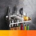 304 кухонная стойка из нержавеющей стали настенный держатель для ножей без дырочек принадлежности для приправ аксессуары для полки Lu5167