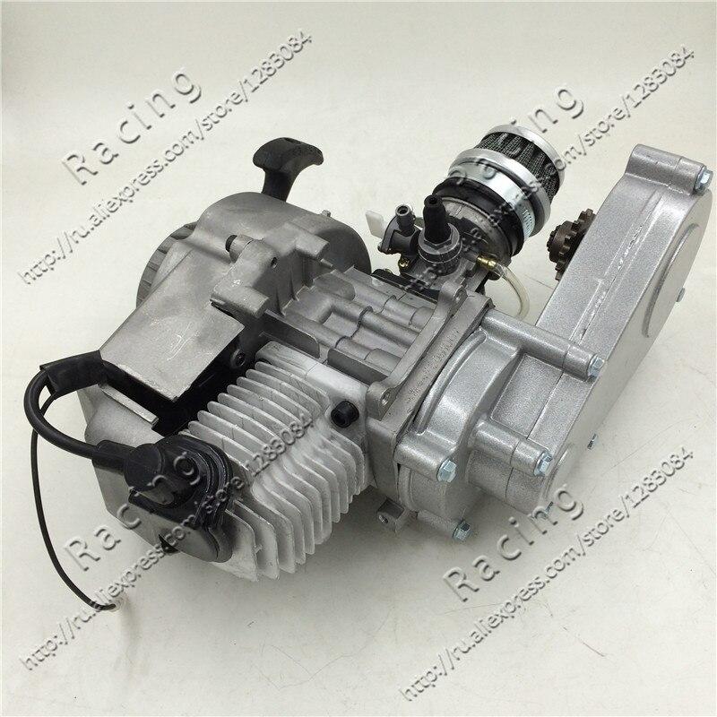 49cc двигатель с коробкой передач/очиститель воздуха и карбюратор для dirt bike бренд KXD LIYA HIGHPER SURPLUS NITRO SSR 30RACING