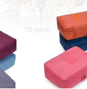 Image 4 - WBBOOMING Hot Sale Cosmetic Storage Bag Travel Bag Makeup Organizer Skincare Storage Zipper Bag 100% Good Rating 14 Colors