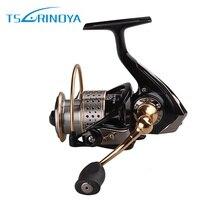 Trulinoya Saltwater Fishing Reels 9BB 5 2 1 Aluminium Spinning Reel Free Spare Metal Spool 2000
