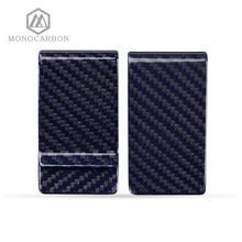 Novo Colorido Real com Fibra de Aramida Grampo do Dinheiro, Para O Azul Preto De Fibra De Carbono Grampos do Dinheiro
