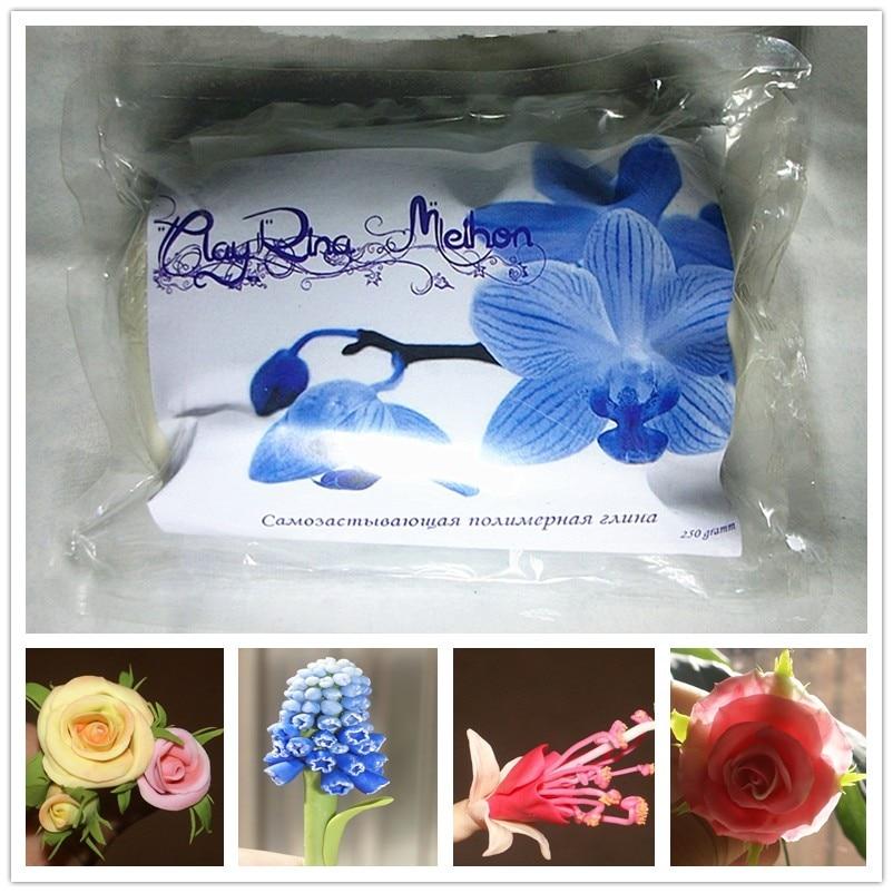 CLAYRIN MEIHON skulptura iz polimerne gline / kruhov cvet DIY / smolna glina 250g / bela smolna glina / pena glina / brezplačna dostava