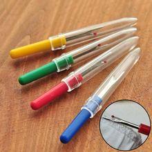 Острый стежок удаленный инструмент безопасная пластиковая ручка ремесло резец резьбы распарыватель вышивки крестом Швейные Инструменты NE