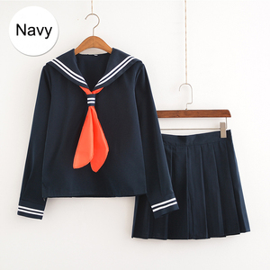Image 3 - My Hero Academia Cosplay Costume Anime Boku no Hero Academia Cosplay Himiko Toga JK Uniforms Women Sailor Suits with Sweaters
