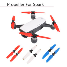 2pcs Quick-Release Folding 4730F  Camera Red Blue White Props RC Parts Blades CW CCW Propellers Wings for DJI Spark Accessories