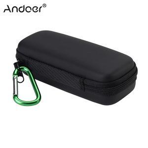 Image 5 - Andoer портативный противоударный чехол для камеры, сумка с карабином для цифровой камеры Ricoh Theta M15 S SC V 360, сферическая панорамная сумка