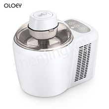 220V Home ice Cream Machine Mini Automatic Cone Machine Homemade Children DIY fruit ice Cream ice cream Maker Capacity 600ML цены онлайн