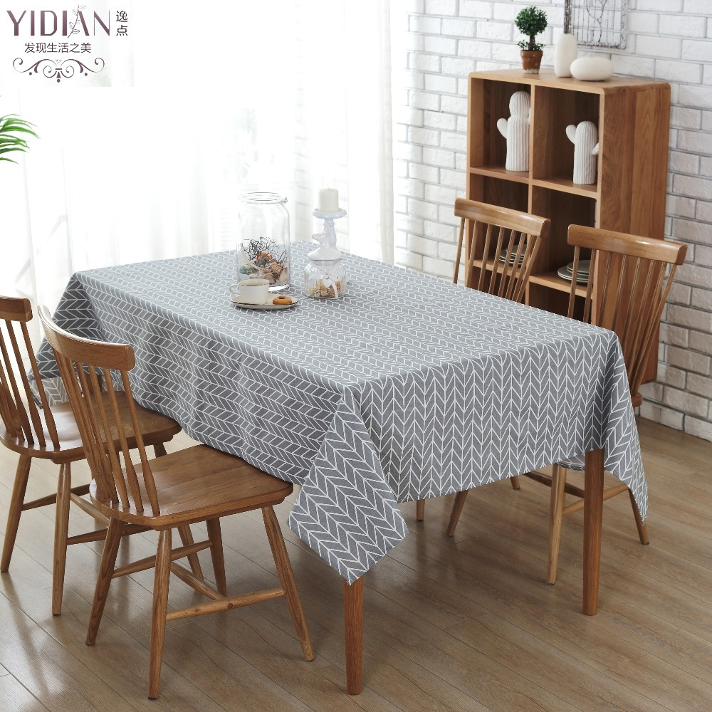 online get cheap modern table cloth aliexpresscom  alibaba group - modern simple style canvas tablecloth geometrical table cloth rectangularhome decoration table cover rectangulaire tischdecke(