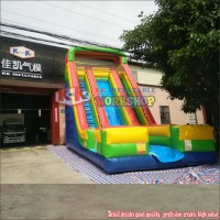 Popular Sport Game Durable Bouncer Inflatable Slide,Giant Water Slide