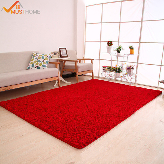 70x180cm 28 X71 Chenille Microfiber Area Rug For Living Room Modern Soft Touch