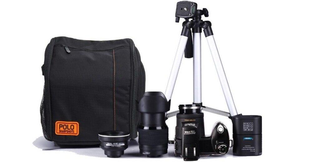 33mp HD d7300 Цифровая видеокамера Камера Широкий формат объектив 24x оптический телескоп объектива Бесплатная доставка