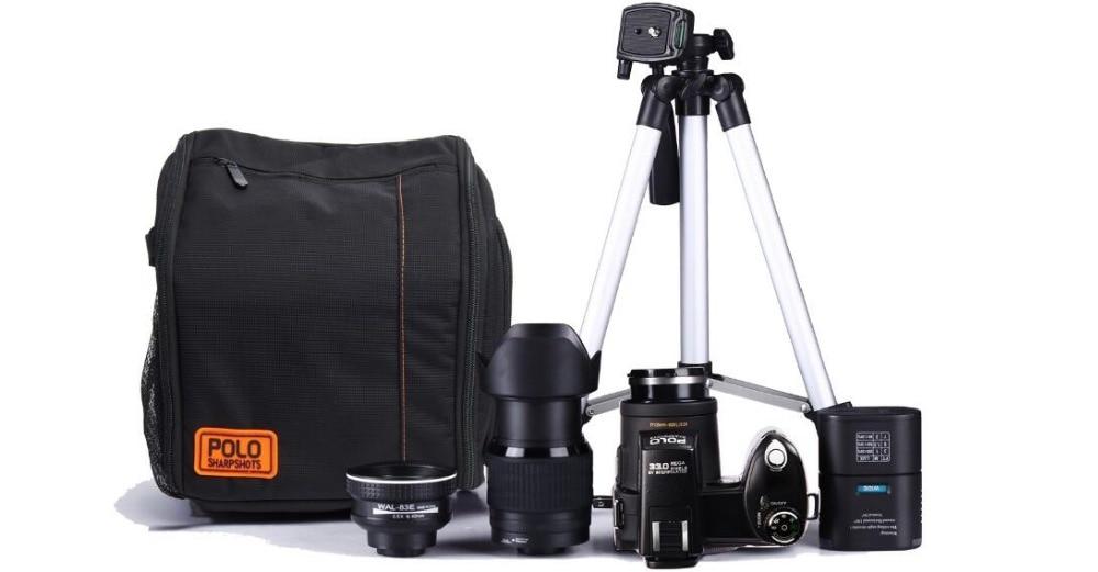 D7300 33MP HD Filmadora Digital Camera Lente Grande Angular Lente do Telescópio Óptico de 24x Frete grátis