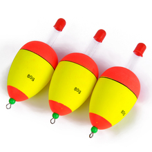 FISH KING 5g 10g 15g 20g 25g 30g 40g 50g 60g 80g Luminous  Foam Fishing Floats Night Float EVA Big Foam Float Light Stick Floats
