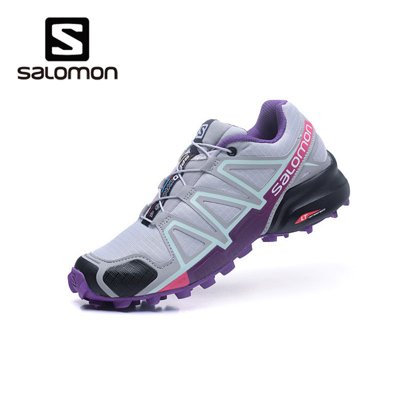 $39.46 2019 Newest Salomon Speed Cross 4 CS Lace-up Woman Breathable Outdoor Sneakers Summer Athletic Running Jogging Shoes