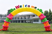 8 м (26 футов) надувные буквы цветы Арки арки для детского сада рекламы с ce Air Воздуходувы