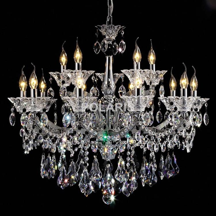Lusso classico maria teresa lampadari di cristallo di luce for Lampadari luce led