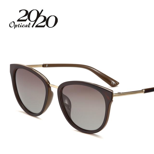 20/20 Polarized sunglasses women Retro Style Metal Frame