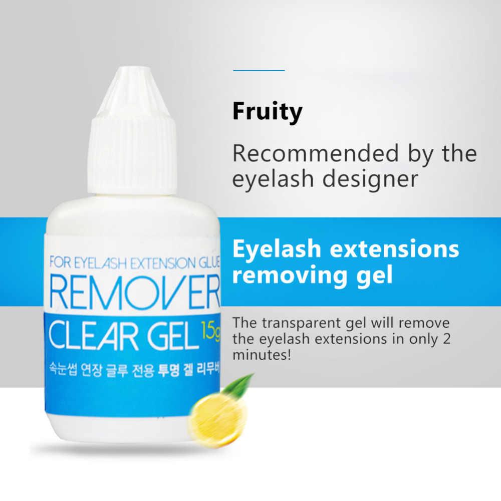 875c057cf84 ... 15g Professional False Eyelash Glue Remover Liquid Adhesive Debonder  Gel Type For Fake Eyelashes Extension Makeup