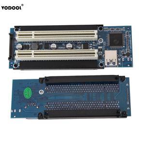 Image 1 - VODOOL PCI E אקספרס X1 כדי הכפול PCI Riser להאריך מתאם כרטיס עם 1M USB3.0 כבל עבור WIN2000/XP/Vista/Win7/Win8/לינוקס להוסיף כרטיס