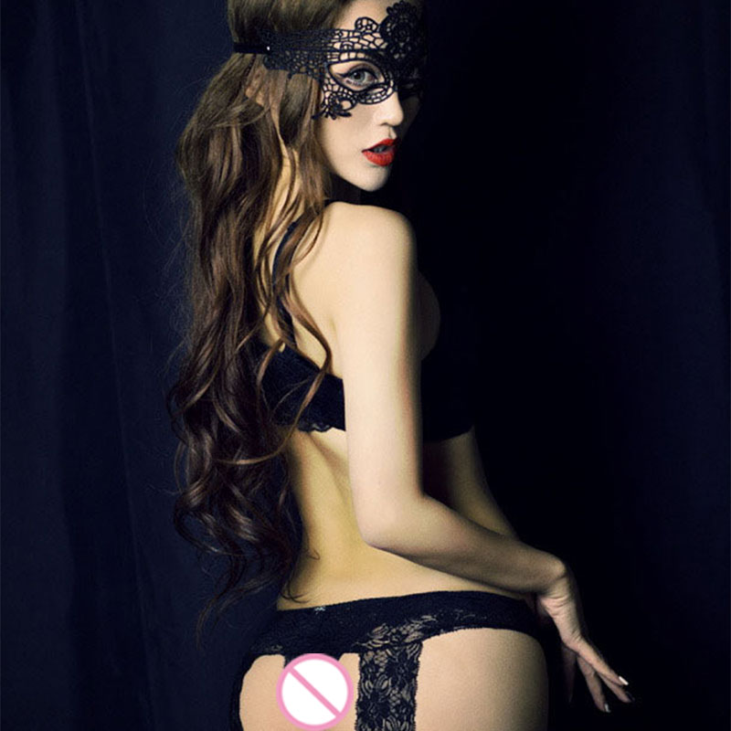 Explosive Adult Products Black Sexy Lace Eye Mask Temptation Couple SM Passion Sex Role Play Fun Bundled Flirt Supplies
