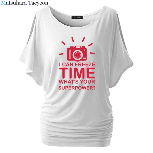De Camiseta O Cámara Mujeres Fotógrafo Tiempo Congelación xPwTgZTHq