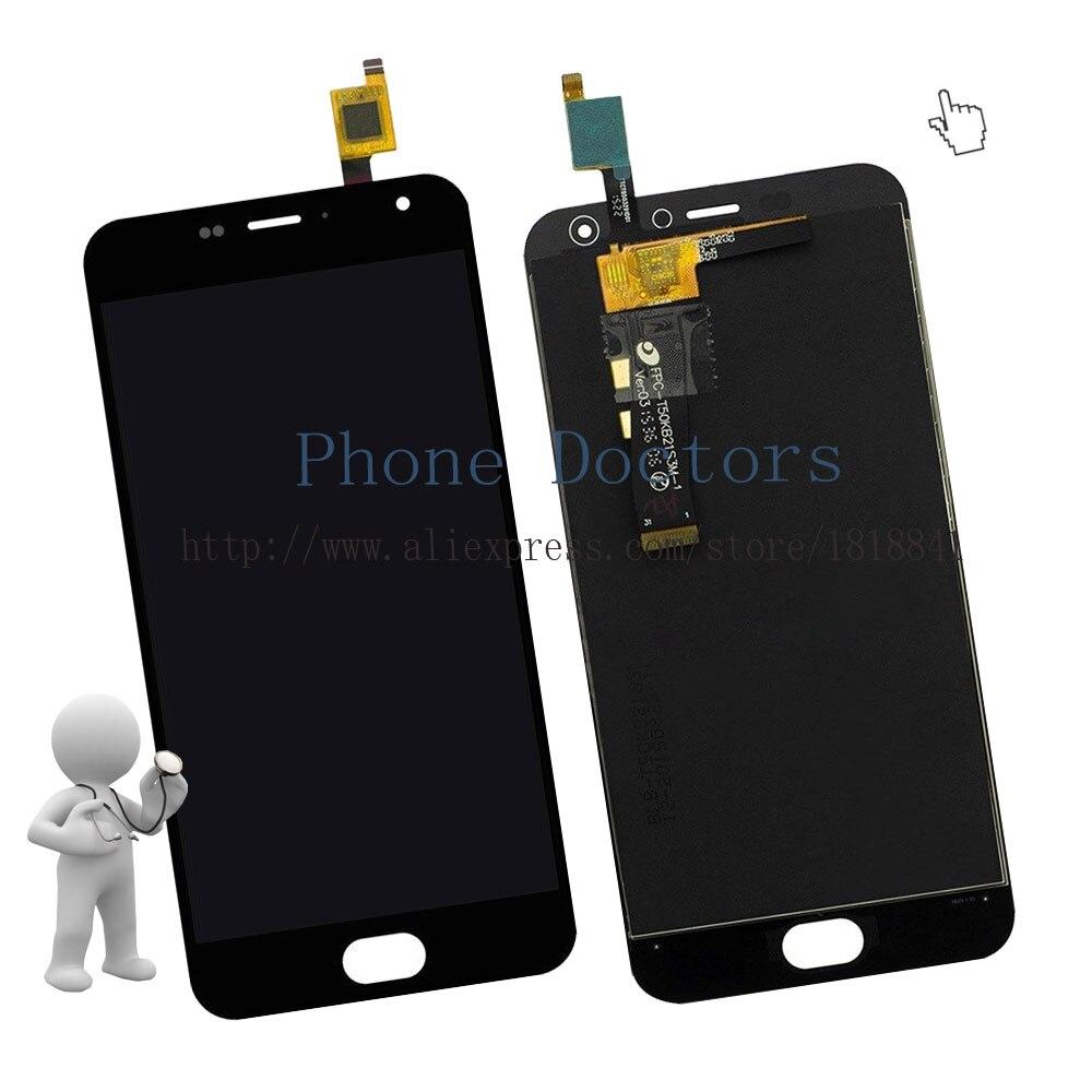 imágenes para 5.0 ''Pantalla LCD Full + Pantalla Táctil Digitalizador Asamblea Reemplazo Para Meizu m2 M2 mini/Meilan 2 M578; negro; nueva