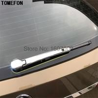 For Skoda Kodiaq 2016 2017 2018 ABS Chrome Rear Window Wiper Cover Trim Wiper Mouldings Strip