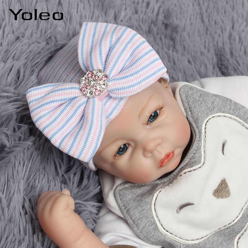 الرضع طفل قبعة الوليد الطفل قبعة القطن متماسكة مخطط الطفل قبعات طفل قبعة الرضع قبعة قبعة طفلة الصبي قبعة قبعة