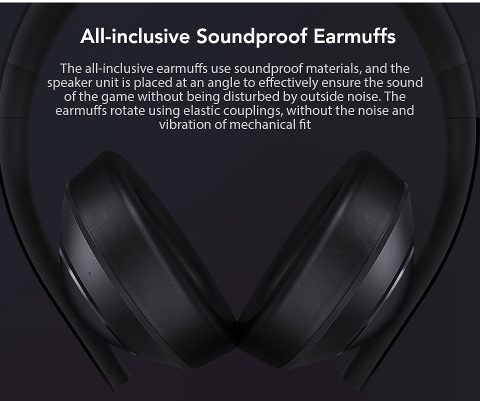 Xiaomi Gaming Headset 7.1 Surround Sound Grephene LED Headphone With Double Mic Noise Reduction Heavy Bass Stereo for PC (7)
