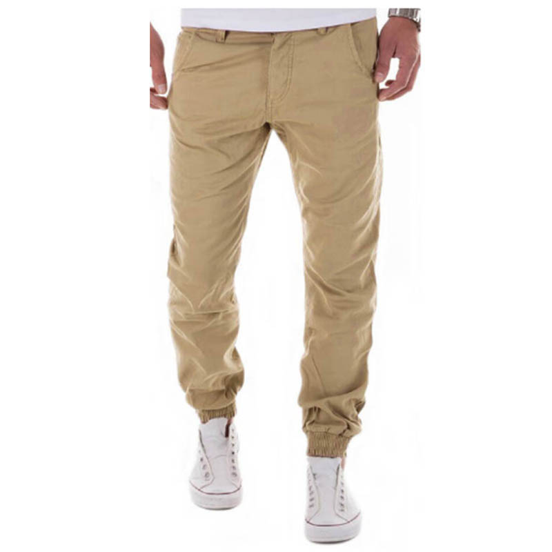 Mens Joggers 2017 Brand Male Trousers Men Pants Casual Solid Pants Sweatpants Jogger Harem Khaki Sweatpants XXXL YTA