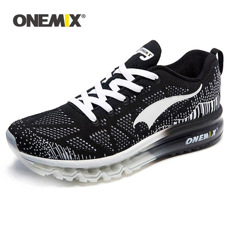 Onemix femmes chaussures de course rythme musique respirant maille baskets chaussures de sport de plein air léger femme chaussures taille US 3.5-9.5 EU 35-43