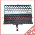 "NEW US 13.3"" For Macbook air A1369 A1466 Keyboard With Backlight  MC504LL/A 2011 Years With 100pcs screws"