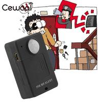 Cewaal 1pcs Mini PIR MP Alert Infrared Sensor Anti Theft Motion Detector GSM Alarm Monitor Wireless