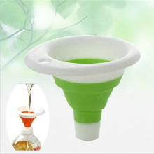 Funnel Kitchen-Tool Folding Novelty Collapsible-Style Silicone Mini Home Safe And Practical