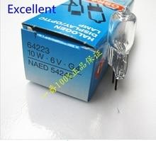 OSRAM 64223 10W 6V G4 halogen lamp semi-auto chemistry analyzer photometer light 6v10w g4 projector bulb