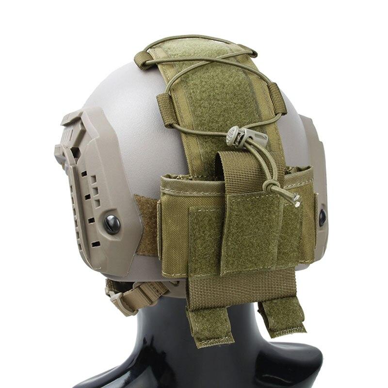 TMC2991-KK TMC MK3 BatteryCase for Helmet Khaki