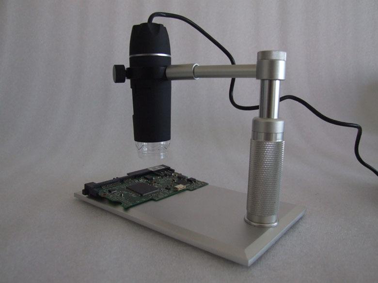 Alluminium Alloy HD 5MP 500X    USB  Microscope CMOS Borescope  Handheld Endoscope new model super hd 5mega pixels 1000x usb microscope cmos borescope support 8 language