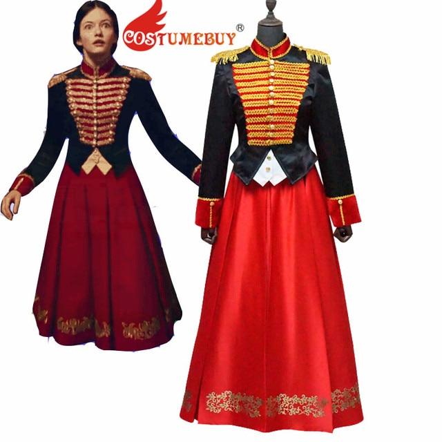 CostumeBuy The Nutcracker And The Four Realms Clara Cosplay Costume Suit  Adult Halloween Uniform Women Soldier Suit L920 7846de84e72b