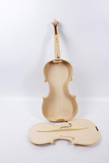 Yinfente белый незавершенной скрипка клен пламени и ели отклеить скрипичные принадлежности части скрипки 4/4 полный Размеры