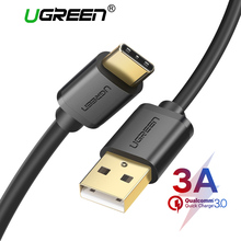 Ugreen 3A USB C Cable for Huawei Mate 20 Pro USB Type C Fast Charging Data