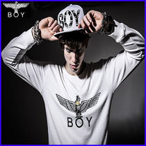 8bd6d80da New 2015 spring autumn men women hoodies London BOY sweatshirt Black/White  Eagle hip hop brand plus size-in Hoodies & Sweatshirts from Men's Clothing  on ...